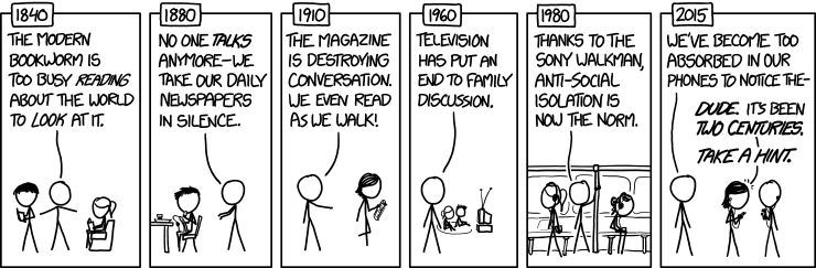 Isolation http://xkcd.com/1601/
