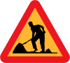 Workman ahead roadsign (http://openclipart.org/detail/1105/workman-ahead-roadsign-by-ryanlerch)